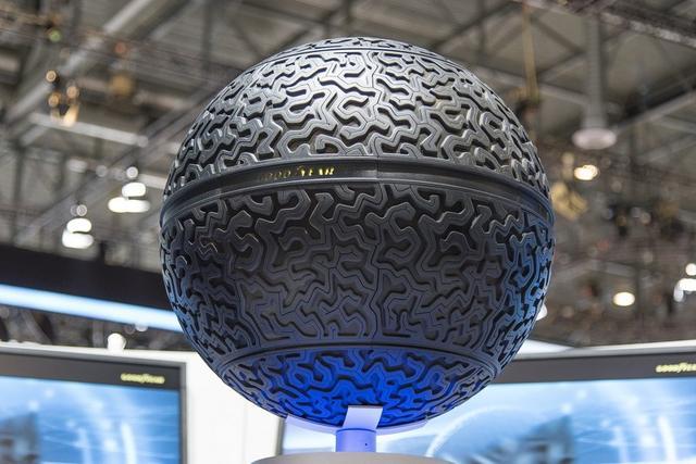 固特异Eagle-360球形概念胎亮相日内瓦车展