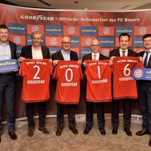 固特异牵手拜仁慕尼黑足球俱乐部成为铂金合作伙伴
